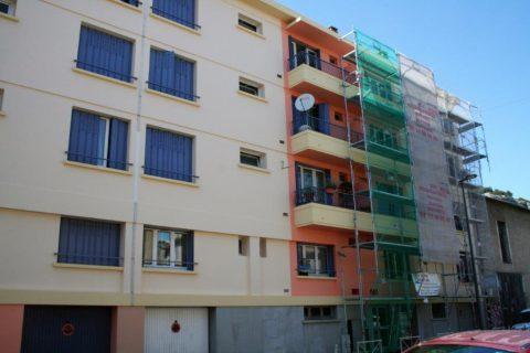 Réfection de façade cours Carnot – CAVAILLON